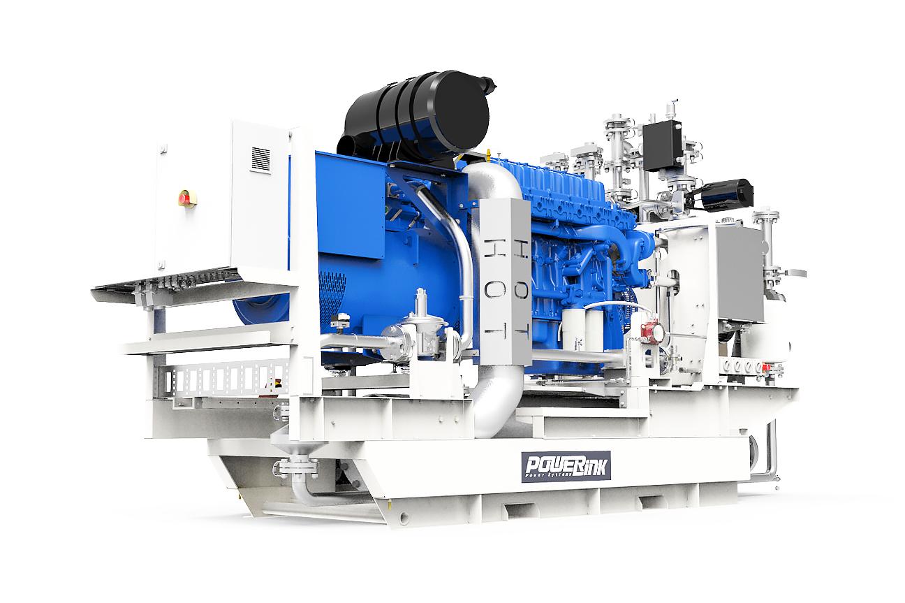 Газопоршневая электростанция (ГПУ) PowerLink GXС250-NG