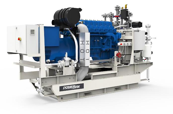 Газопоршневая электростанция (ГПУ) PowerLink GE100NG